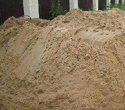 Песок карьерный намывной