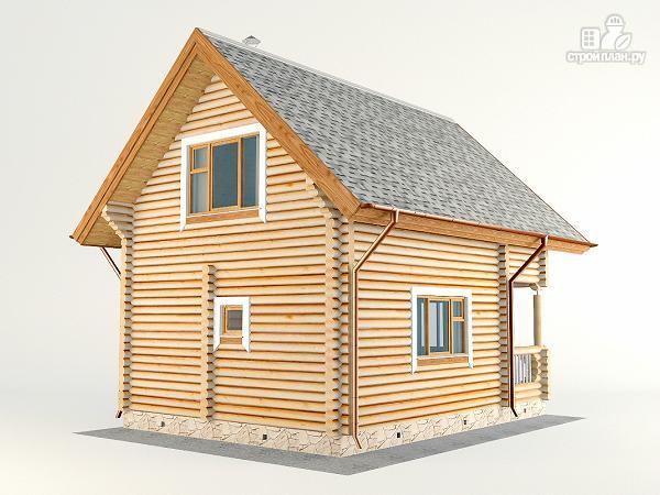 Фото 6: проект домик для отдыха с бильярдной комнатой