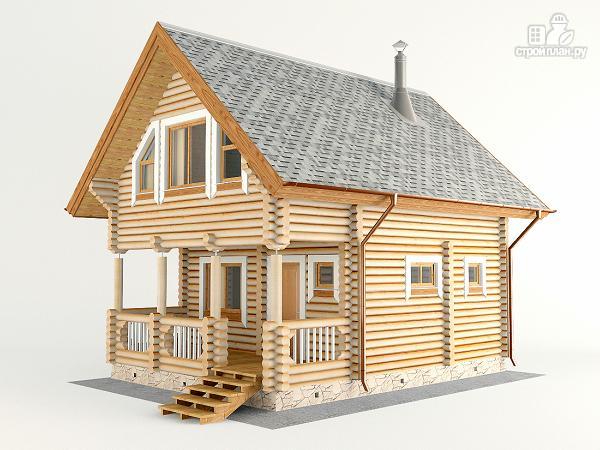 Фото 5: проект домик для отдыха с бильярдной комнатой