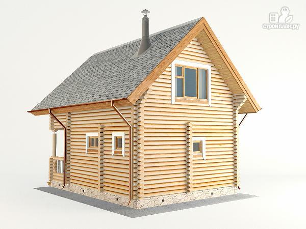Фото 7: проект домик для отдыха с бильярдной комнатой