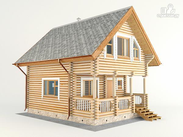 Фото 4: проект домик для отдыха с бильярдной комнатой