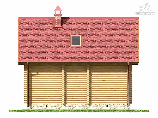 Фото 11: проект дом-баня с двумя спальнями 5.6х8.2 м