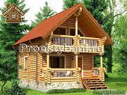 Фото: дом-баня с двумя спальнями