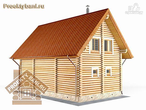 Фото 6: проект дом баня с бильярдной и двумя спальнями