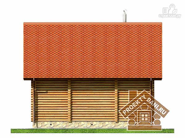 Фото 10: проект дом баня с бильярдной и двумя спальнями