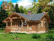 Фото: одноэтажный дом баня с двумя или тремя спальнями