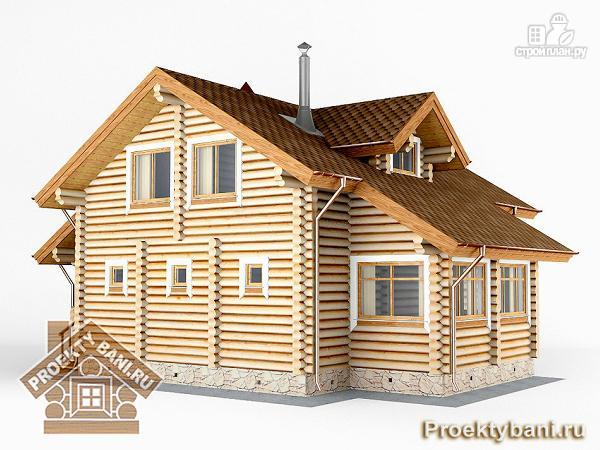 Фото 7: проект дом с двумя террасами