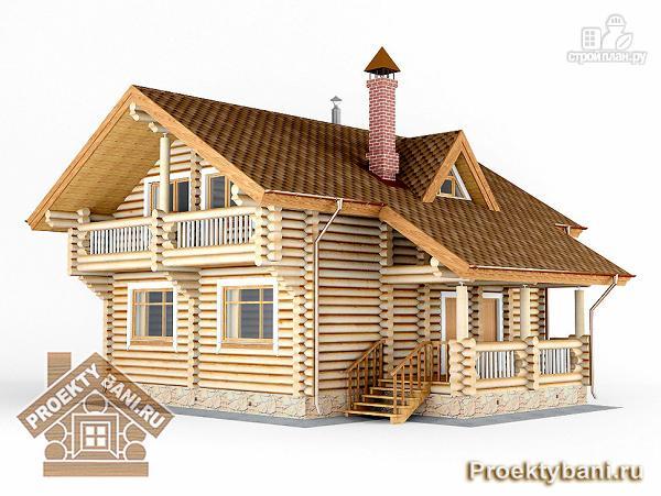 Фото 5: проект дом с двумя террасами