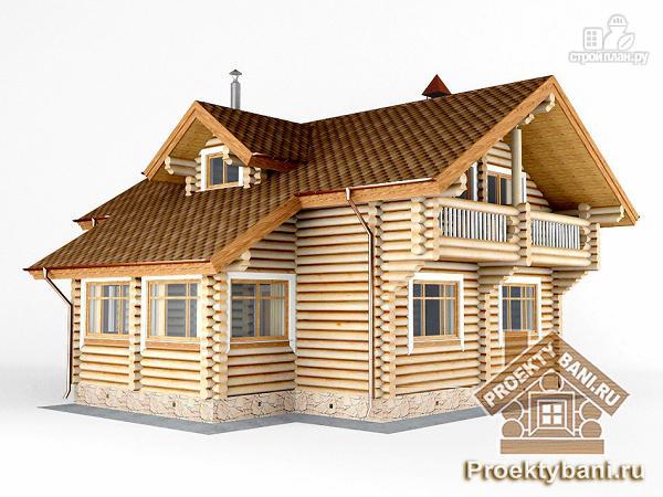 Фото 4: проект дом с двумя террасами