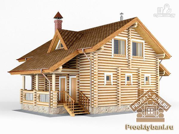 Фото 6: проект дом с двумя террасами