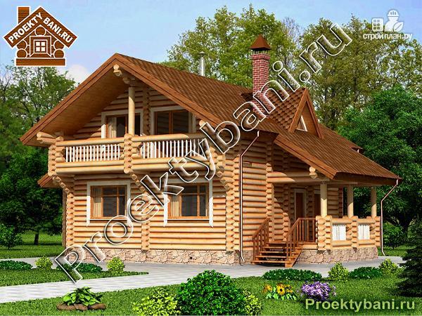 Фото: проект дом с двумя террасами