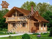 Фото: дом с двумя террасами