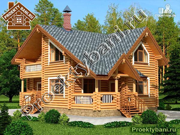 Фото: проект дом с тремя спальнями