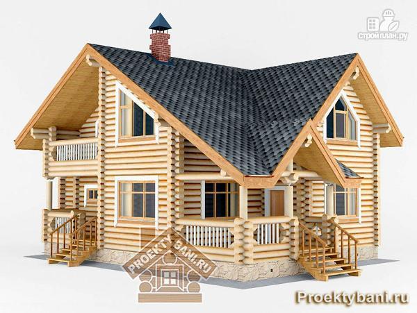 Фото 4: проект дом с тремя спальнями