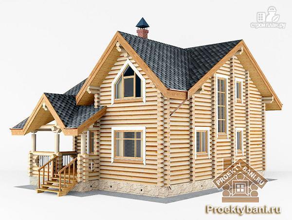Фото 7: проект дом с тремя спальнями