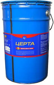Антикоррозийная термостойкая эмаль (краска) «ЦЕРТА»