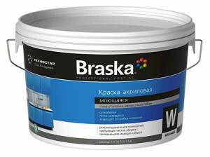 Сертифицированная краска моющаяся для детских и медицинских учреждений