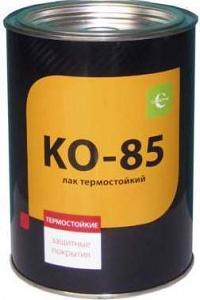 Лак термостойкий КО 85 ГОСТ 11066-74 «Церта»