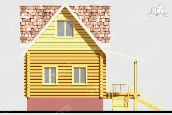 Фото 7: проект дом из бревна 220 мм