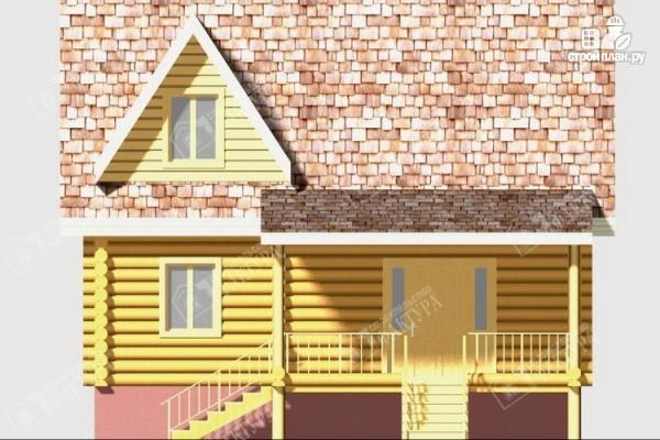 Фото 4: проект дом из бревна 220 мм