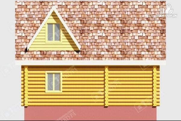 Фото 6: проект дом из бревна 220 мм