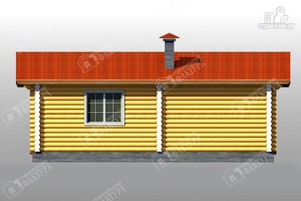Фото 5: проект дом с просторной верандой