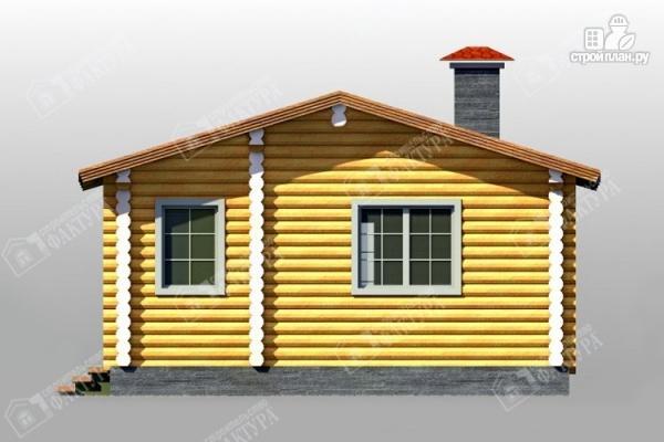 Фото 4: проект дом с просторной верандой