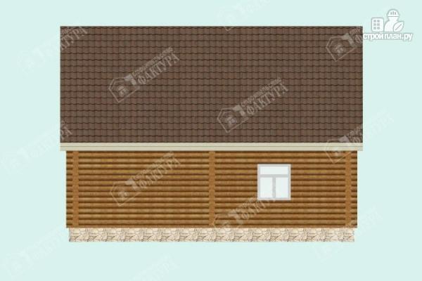 Фото 6: проект дом из бревна 9х9