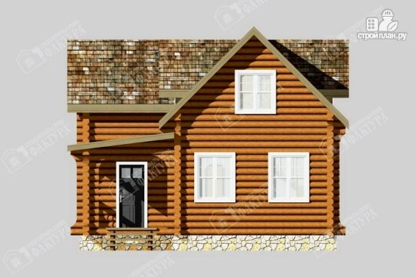 Фото 4: проект бревенчатый дом для комфортного отдыха