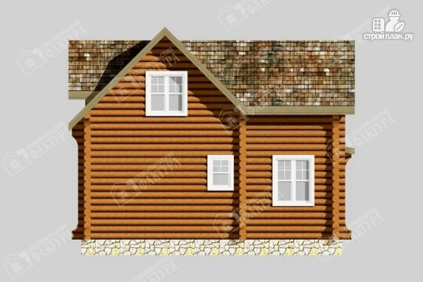 Фото 6: проект бревенчатый дом для комфортного отдыха