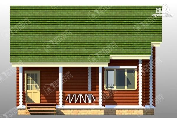 Фото 4: проект дом из оцилиндрованного бревна 220 мм