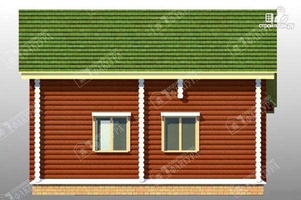 Фото 6: проект дом из оцилиндрованного бревна 220 мм