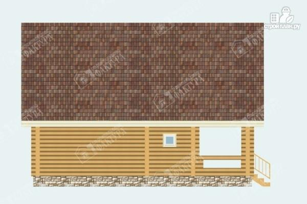 Фото 7: проект бревенчатый дом 7х10