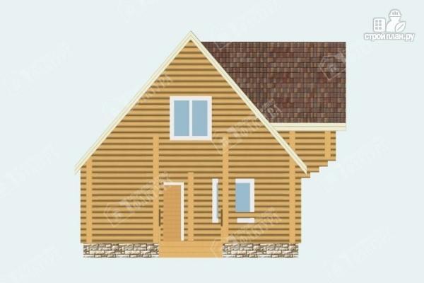 Фото 4: проект бревенчатый дом 7х10