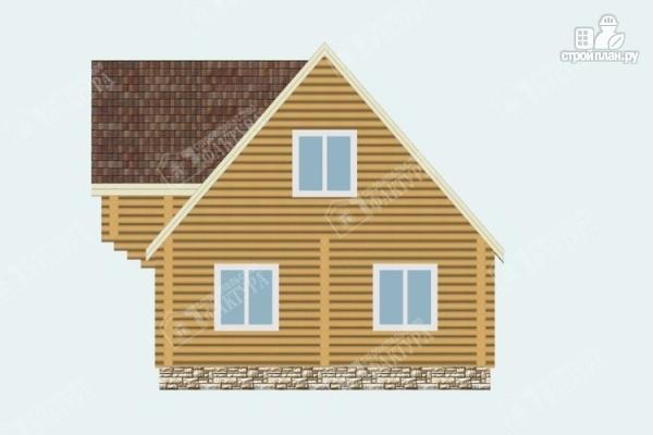 Фото 6: проект бревенчатый дом 7х10