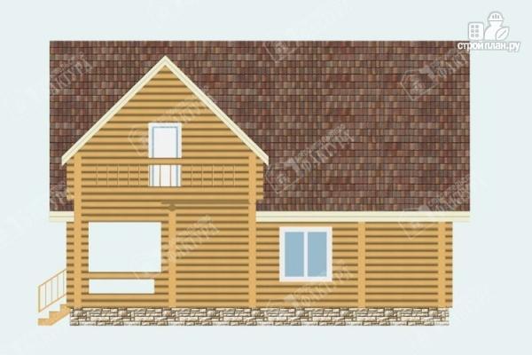 Фото 5: проект бревенчатый дом 7х10