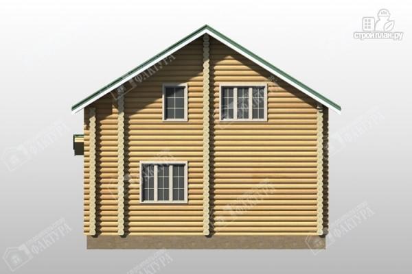 Фото 6: проект уютный дом из бревна
