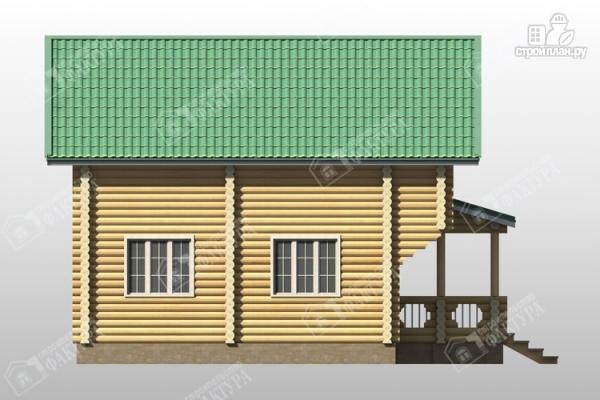 Фото 7: проект уютный дом из бревна