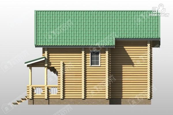 Фото 5: проект уютный дом из бревна