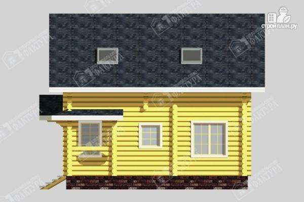 Фото 5: проект дом из бревна 220 мм