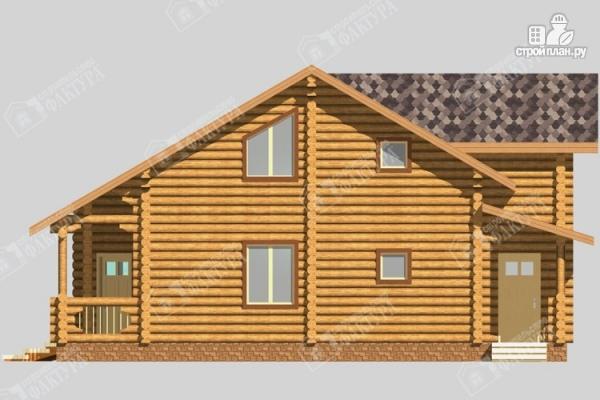 Фото 5: проект большой дом из бревна