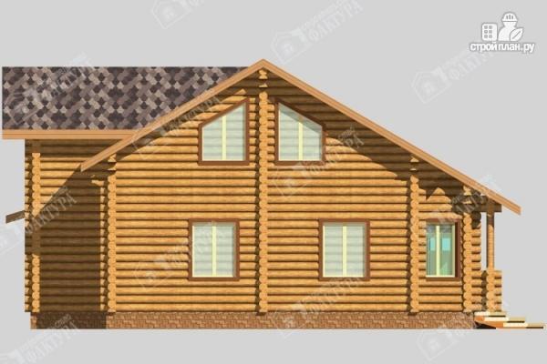Фото 7: проект большой дом из бревна