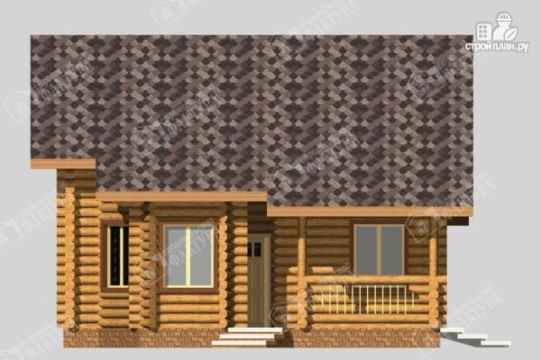Фото 4: проект большой дом из бревна