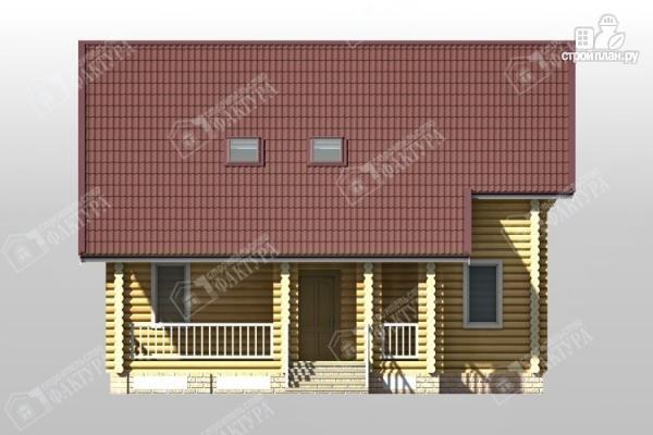 Фото 4: проект дом из бревна 10х10