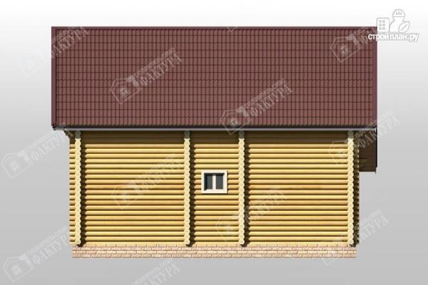 Фото 6: проект дом из бревна 10х10