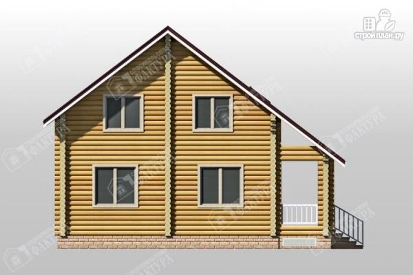 Фото 7: проект дом из бревна 10х10