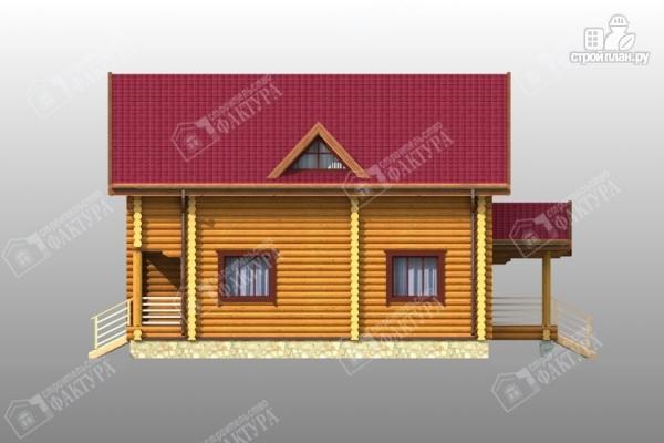 Фото 5: проект комфортный дом из бревна