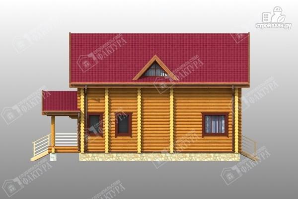 Фото 7: проект комфортный дом из бревна