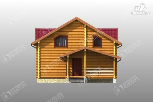 Фото 6: проект комфортный дом из бревна