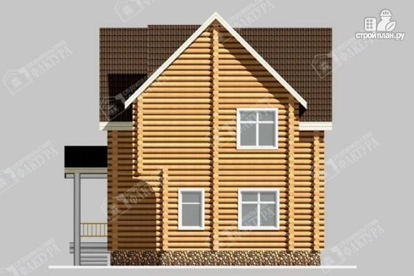 Фото 5: проект бревенчатый дом 8х10